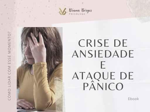 E-book - Crise de ansiedade e ataque de pânico